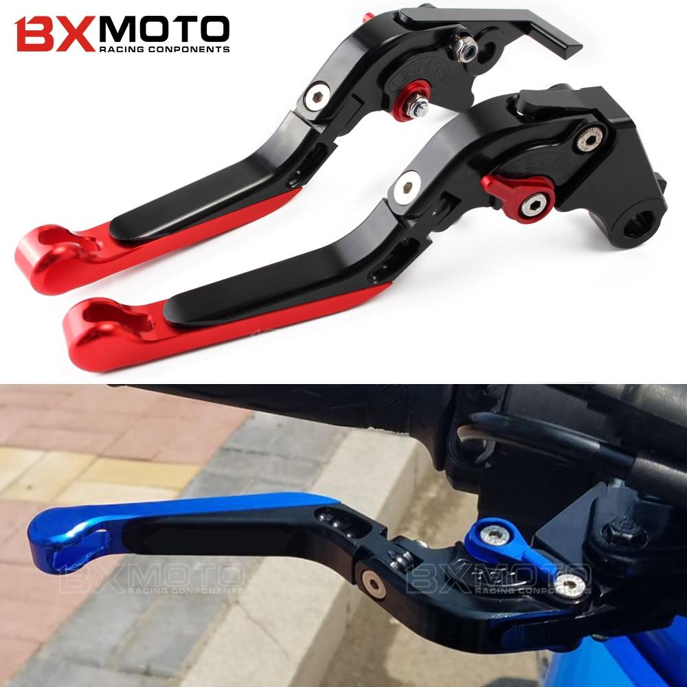 Motorbike Parts motorbike Foldable Extendable Clutch Brake Levers For Honda CBR600 F2/F3/F4/F4i CB919 CBR900RR CBR 600 F2 F4I mf2300 f2