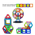 Magnetic Building Block Magnetic Toys Educational Game Construction Stacking Sets 112pcs Smart  Toy &Make Your Children Smarter