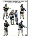 Scale Models 1/35 US special forces and civilians in six groups Resin Model Free Shipping