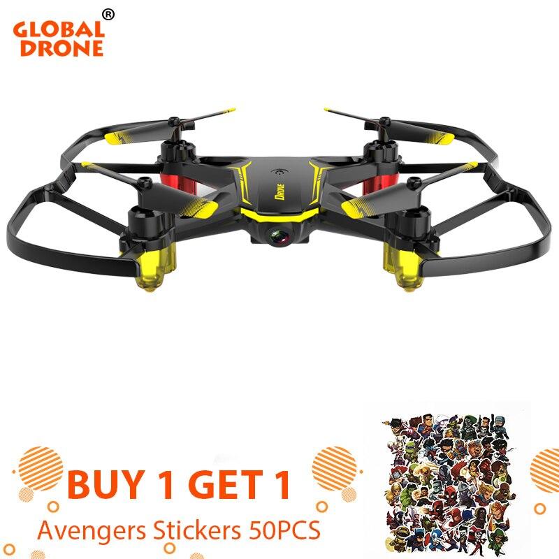 Global Drone GW66 Mini Drone FPV Drones con cámara RC Quadcopter Drone con giroscopio RC juguetes para niños vengadores