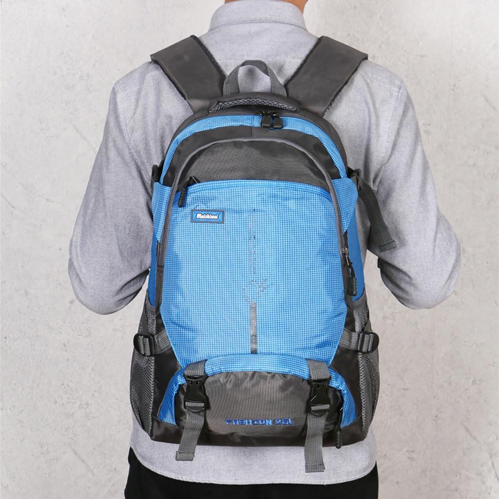 New Large Mens Fashion Waterproof Backpack Laptop School Bag Travel Hiking Bag