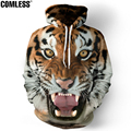 New Fashion 2016 Lion Hooded Shirts Men Printed 3D Animal Hoodies Casual Graphic Hoodie Funny Sweat Shirt Tie-dye Sweatshirts