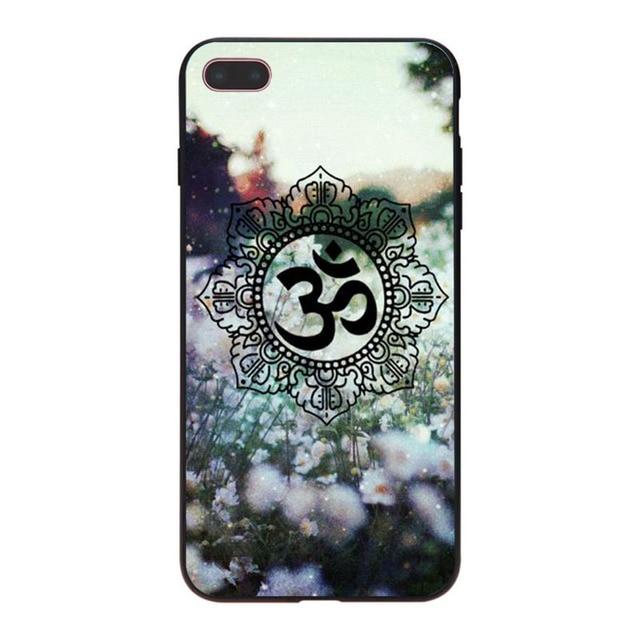 Mandala Chakra Yoga Phone Case