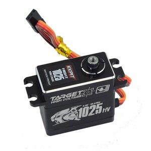 Image 2 - KKPIT HV CLS 1025 SERVO DIGITAL resistente al agua IPX6 de Metal de alta tensión, 25KG, 7,4 V, 0,08 s, para Buggy de control remoto, camión monstruo, escala sobre orugas