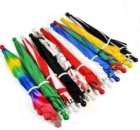 Free Shipping 10PCS Magic Umbrella/Parasol Stage Magic,40cm Length,Magic Trick,classic,fun,Magic Accessories