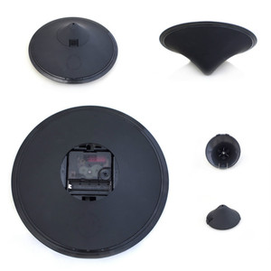 Image 5 - Relojes creativos de mesa con alarma y diseño moderno, relojes magnéticos con diseño de galaxia orbital, relojes de mesa con bolas y decoración para el hogar