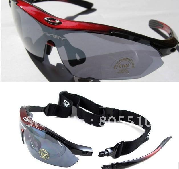 Cycling Riding Bicycle Bike UV400 Sports Sun Glasses Eyewear Goggle 5 color lens