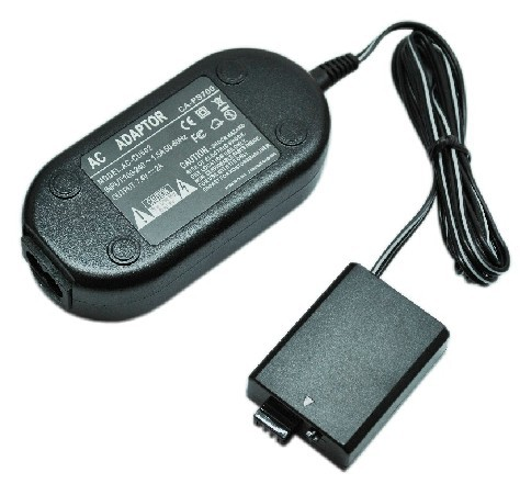 Free shipping wholesale ACK-E5 DR-E5 AC Power Adapter + Coupler For CANON EOS 450D 500D 1000D XS XSi T1i