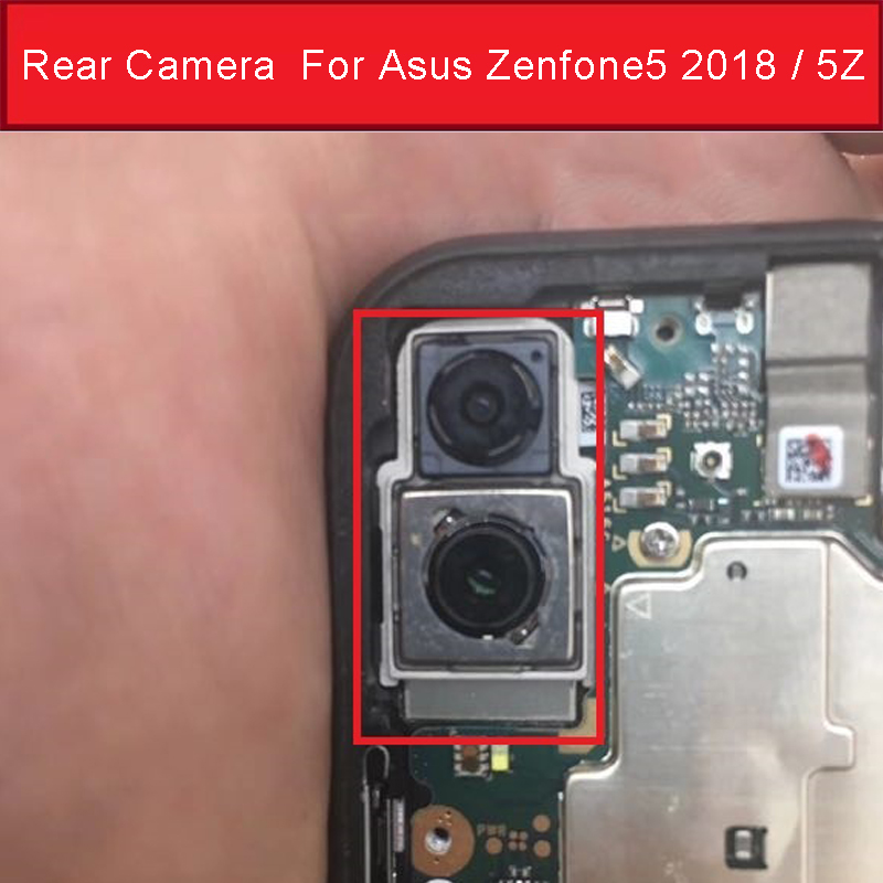 Front&Rear Camera For Asus Zenfone 5 2018/5Z ZS620KL ZE620KL X00QD Z01RD Main Back Camera Module Small Camera Flex Cable Parts