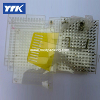 YASON 600 Holes Manual Capsule Filling Machine 0 Capacity 600pcs Time