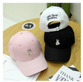 Gorras 2017 Summer New Adult Casquettes Korea Ulzzang Harajuku Novelty Men And Women Snapback Caps Casual Pink Baseball Hats