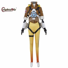 Cosplaydiy Game Tracer Cosplay Costume Yellow Version Cosplay Outfit Halloween Costumes For Adult Women Custom Made
