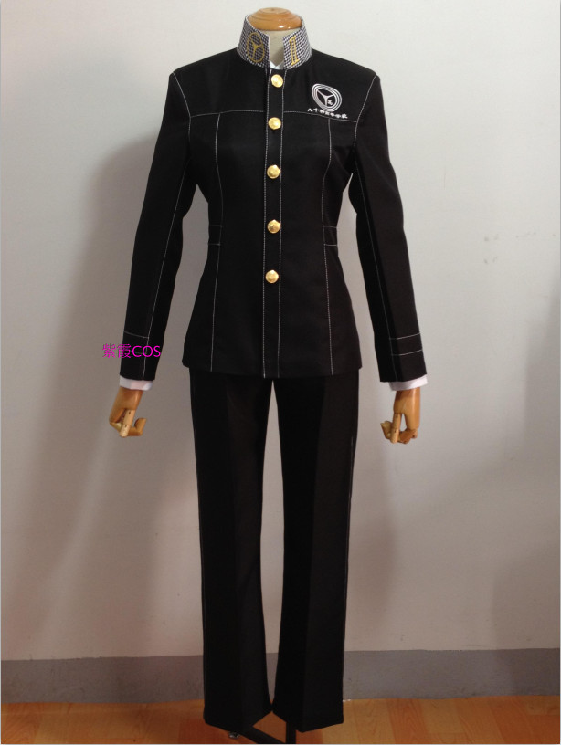 Persona 4 Yasogami High Boys Uniform Cosplay Costume Custom Made