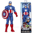 Envío gratis Captain America súper muñeca 12 pulgadas figura de acción juguetes movable modelo de acción venta