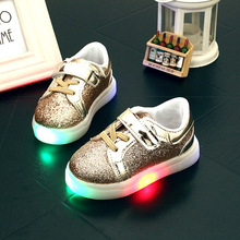 2016 child sport shoes, kids light up shoes, led sneakers kids, children shoes with light, chaussure enfant fille,luminous shoes