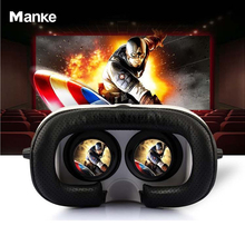 VR Glasses Virtual Reality Glasses 3D Glasses 2.0 Version + Bluetooth Wireless Remote Controller For 4.0-6.0 inch Smart Phone