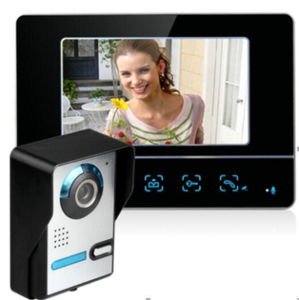 7 Inch  Touch Keypad 700 TVL Two Way  Intercom Video Door Phone|Doorbell| |  - title=