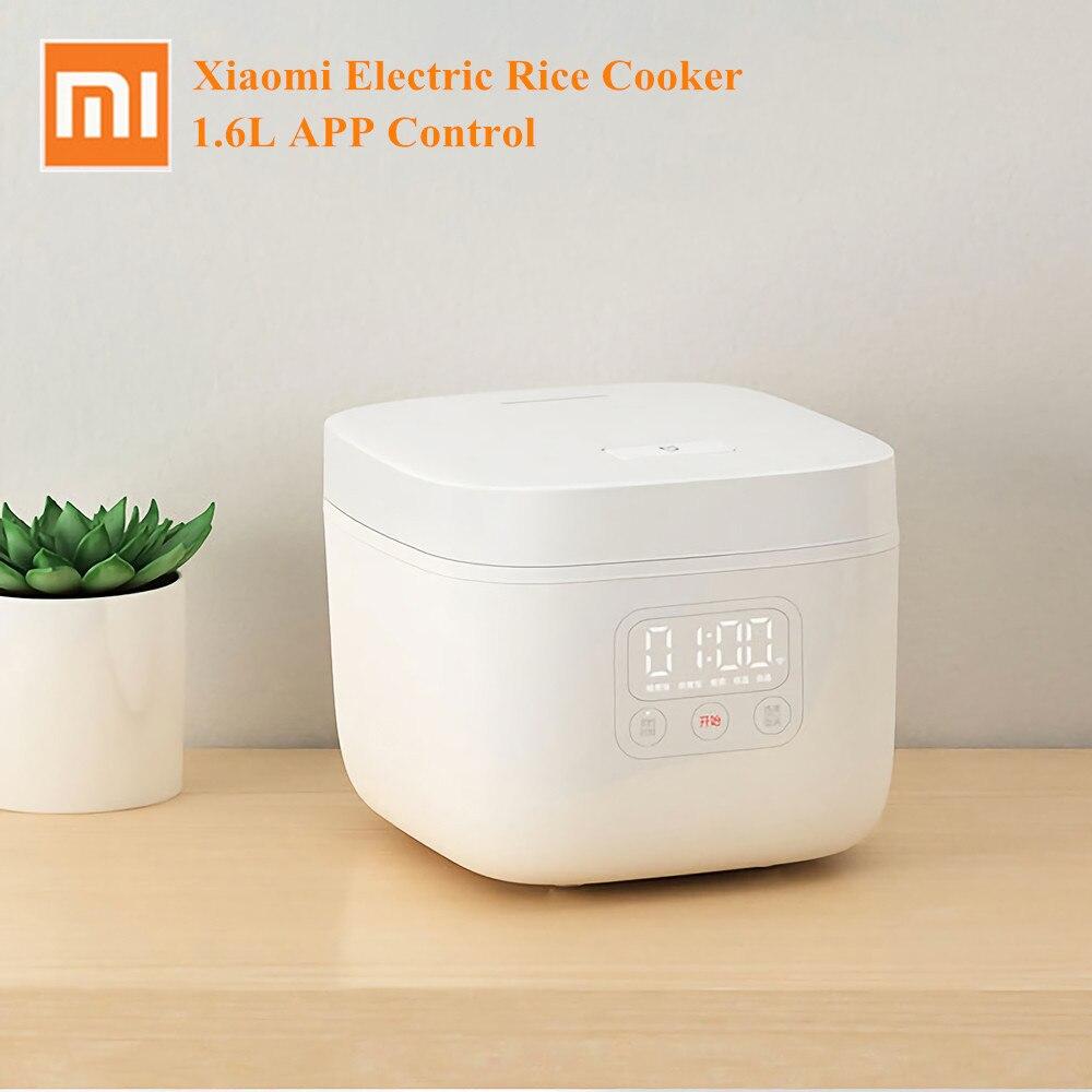 Xiaomi cuiseur à riz électrique 1.6L Smart Home alliage en fonte cuiseur à écran LED multicuiseur cuisine appareil de cuisson APP contrôle
