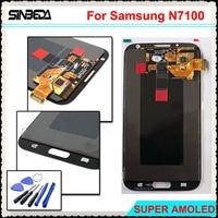 Sinbeda Super AMOLED HD 5 5 LCD Screen Display For Samsung Galaxy Note 2 N7100 N7108