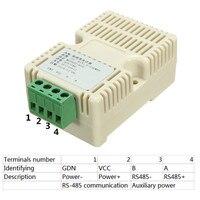 1PC New Arrival RS485 Temperature And Humidity Transmitter Rs485 Modbus Temperature Sensor Sensors