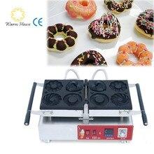 1Pcs 1600W 110V/220V Blossom,Heart ect Shape Digital Electric Donut maker; Donut making machines