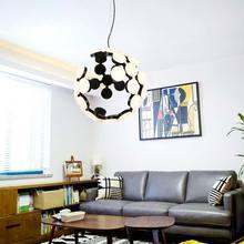 Moder Design Led Chandelier Lighting For Living Room Bedroom Foyer Home Decor Light Fixture White Metal Acrylic Lamp Lustre 220V