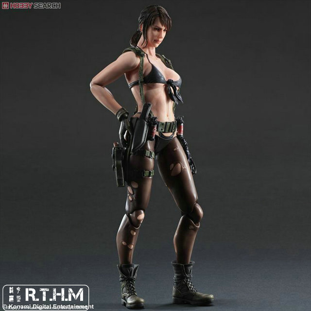 METAL GEAR SOLID V THE PHANTOM PAIN PLAY ARTS Kai Quiet Action figure