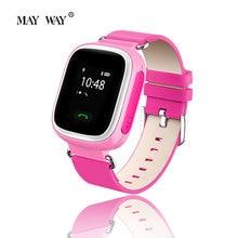 Wireless Bluetooth Smart Watch 0 66 inch LCD Support GPS Wifi SIM Card Children Kids Smartwatch