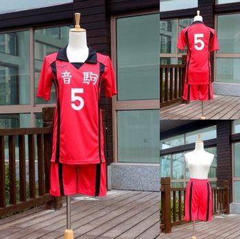 Костюм для косплея «Haikyuu NEKOMA High School Volley Kuroo Tetsurou kozumekenma», комплект из 2 предметов: футболка + шорты
