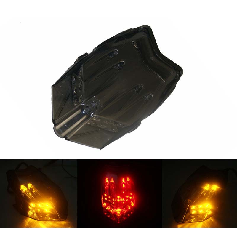 waase For MV AGUSTA F3 2012 2013 2014 Rear Tail Light Brake Turn Signals Integrated LED