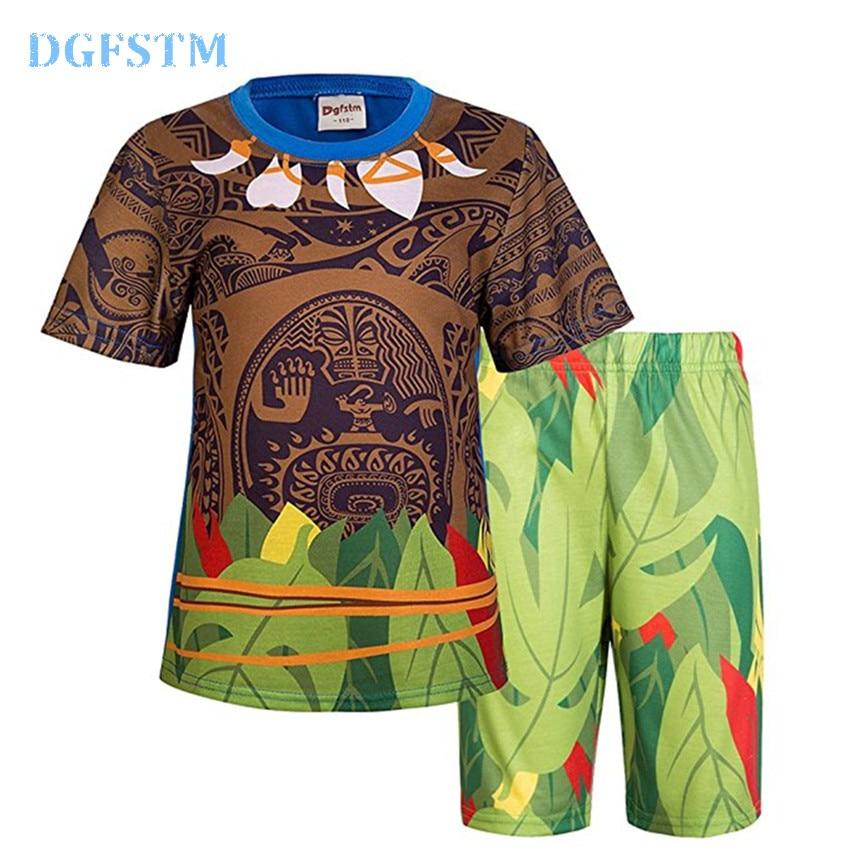 Kūdikių mergaičių drabužių komplektai Moana Maui kostiumai - Vaikų apranga - Nuotrauka 1