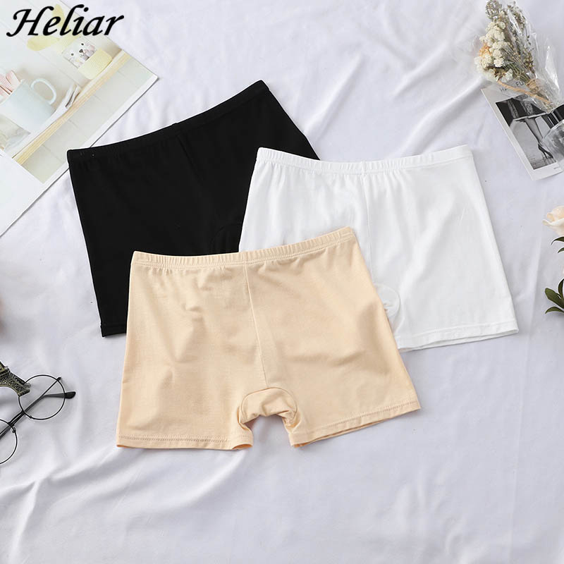 HELIAR 2019 Newest Women   Short   Lady Simple Style Casual 100% Cutton   Shorts   Women Solid Elastic   Shorts
