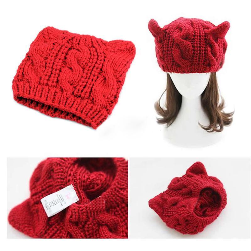 Moderno Oreja Patrón De Crochet Sombrero Imágenes - Manta de Tejer ...