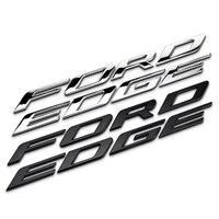 Dsycar 1Pcs 3D Metal FORDEDGE Car Side Fender Rear Trunk Emblem Badge Sticker Decals For Ford