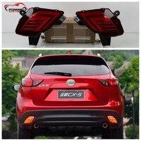 Citycarauto Car Styling Rear Tail Lamp REAR Braket Lights Warning Lights For CX 5 LED Rear