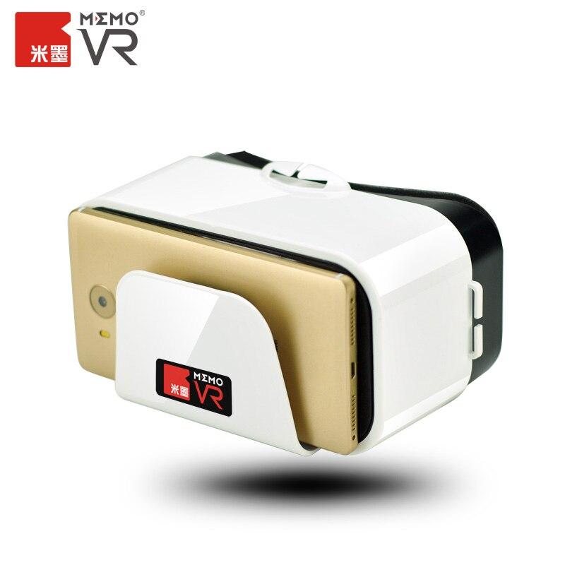 Memo originales gafas 3d gafas de realidad virtual vr dispositivo para iphone 4