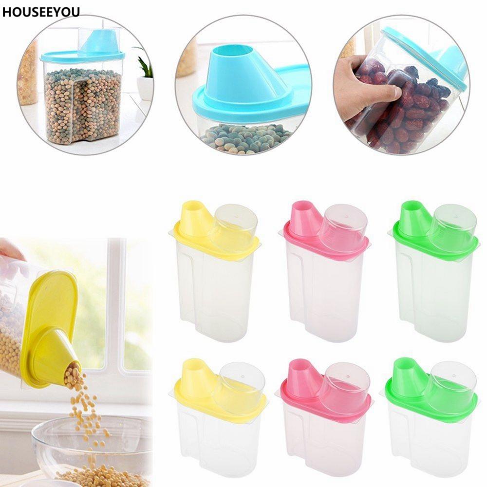1.8L 2.5L Food Rice Soybean Container Spices Juice Dry Box Sugar Storage Case Spice Bottles Colorful Food Storage Containers-in Sugar u0026 Creamer Pots from ...  sc 1 st  AliExpress.com & 1.8L 2.5L Food Rice Soybean Container Spices Juice Dry Box Sugar ... Aboutintivar.Com