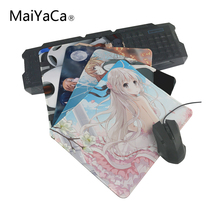 MaiYaCa Hot 2018 Japanese anime mouse pad with edge locking for internet game and office use 220mmX180mmX2mm and 250mmx290mmx2mm