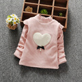Autumn and Winter Casual Gilrs Boys Baby Children Infant,baby Thickening Long-sleeved Bow Cute Warm Princess Shirt