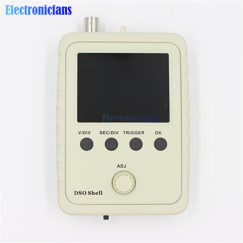 Fully Assembled Orignal Tech DS0150 15001K DSO-SHELL (DSO150) Digital Oscilloscope 2.4 inch Color TFT Display With Housing Case