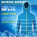 Anti-mosquito fishing suit sun protection clothing