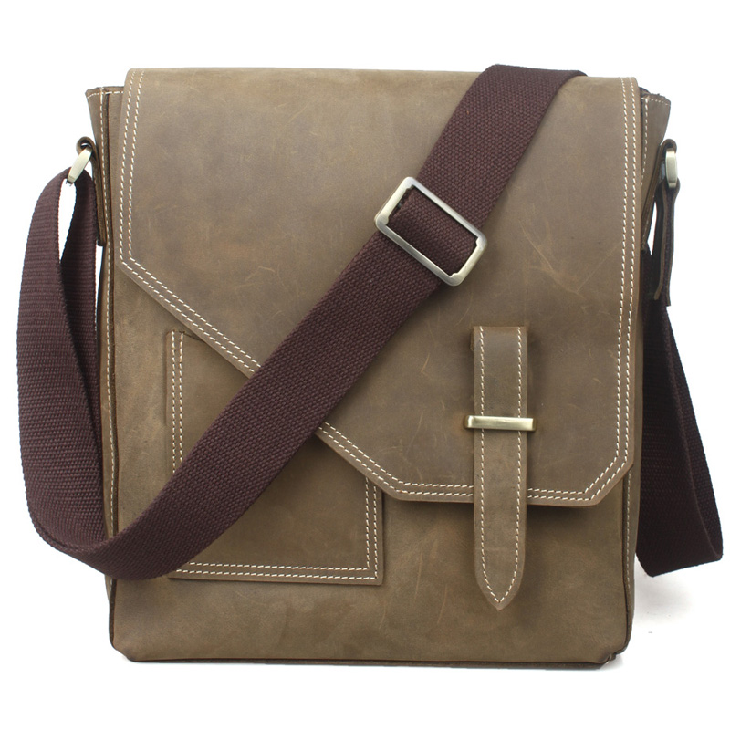 TIDING Leisure genuine leather small shoulder bag for men  flapover vertical messenger bag cross-body chest bag 1065 esperance marie chantal gatore transitional justice and sustainable peace in africa