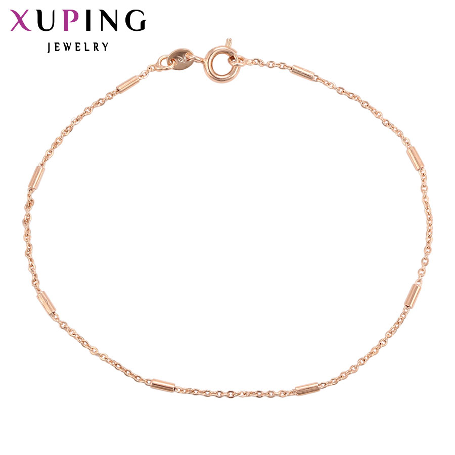11,11 сделок Xuping Элегантная мода розовое золото Цвет покрытием Популярные Дизайн браслет ювелирные изделия подарок на день матери S92.1-75425