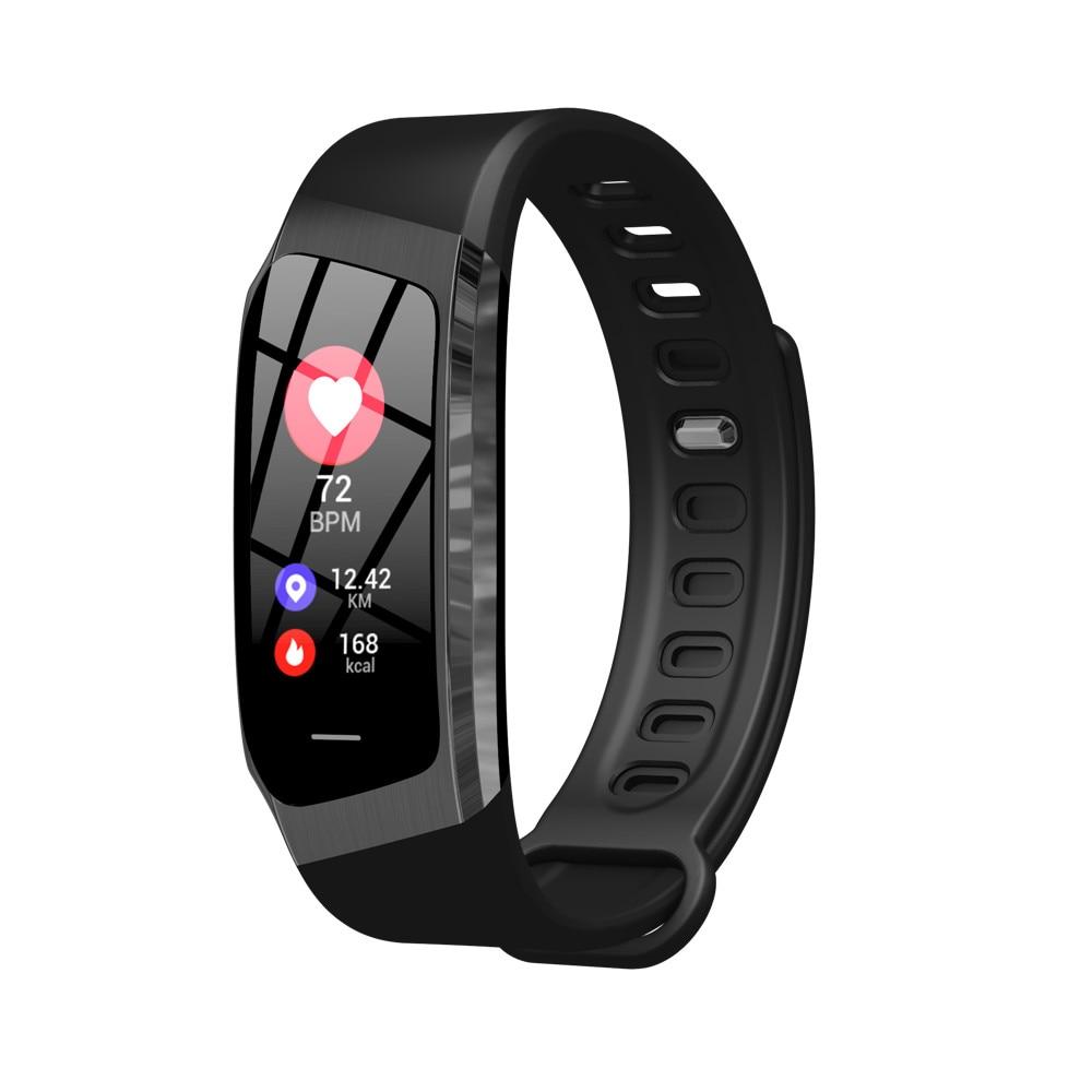 HTB1XL5TdjfguuRjSspaq6yXVXXaQ Greentiger E18 Smart Bracelet Blood Pressure Heart Rate Monitor Fitness Tracker smart watch IP67 Waterproof camera Sports Band