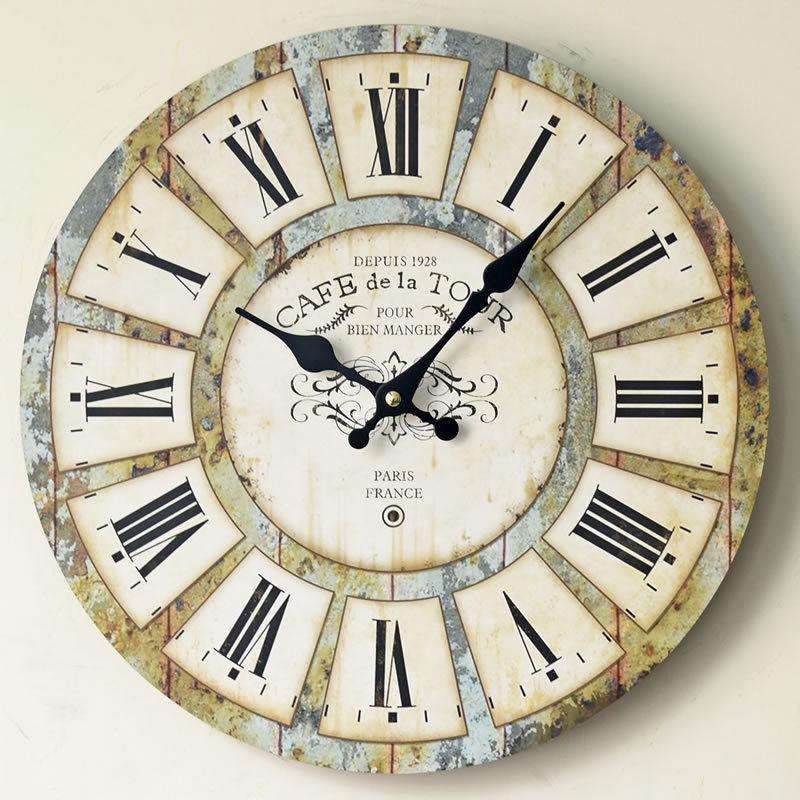 Popular Wooden Kitchen Clocks-Buy Cheap Wooden Kitchen Clocks Lots