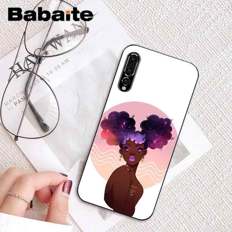 Babaite новая популярная Эстетическая арт черная девушка черный чехол для телефона для HuaweiP9 P10Plus Mate9 10 Mate10 LiteP20 Pro Honor10 vision 10