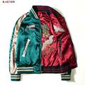 2016 NEW NASA Navy flying jacket ,Thin Both sides wear embroidery varsity american college bomber flight jacket for men M-XXXL