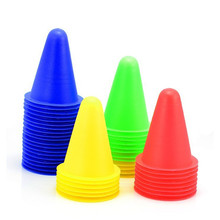 10 Pcs skating Skateboard Mark CupSoccer Football Rugby Speed training Equipment Space Marker Cones Slalom Roller skate pile cup