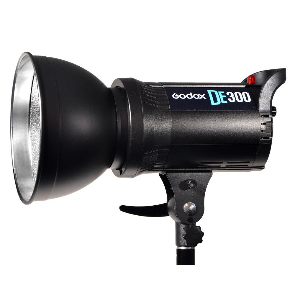 Godox DE300 300 Вт Компактный Студия Flash Light Строб Освещение Лампы Глава 300дж