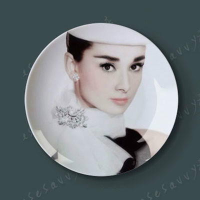 Audrey Hepburn 8 Inch Decorative wall dishes Decorative Porcelain Wall Plates for Wall Hanging Fornasetti Plate Wholesale-in Bowls \u0026 Plates from Home ...  sc 1 st  AliExpress.com & Audrey Hepburn 8 Inch Decorative wall dishes Decorative Porcelain ...